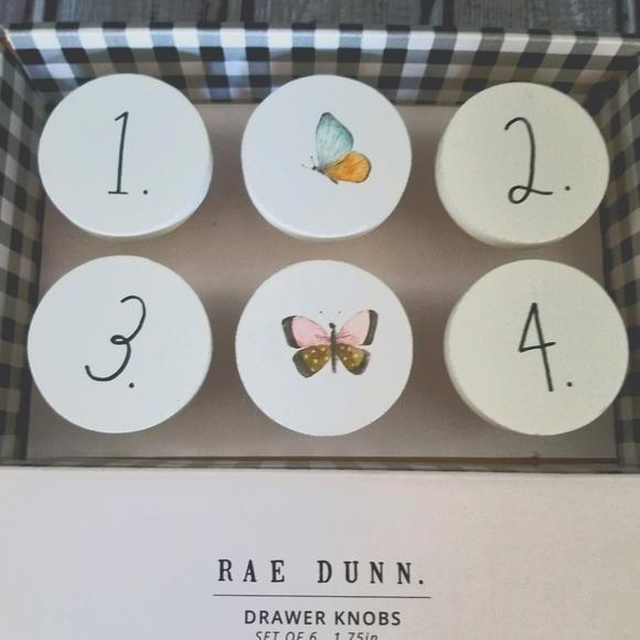 Rae Dunn Desk Knob Set